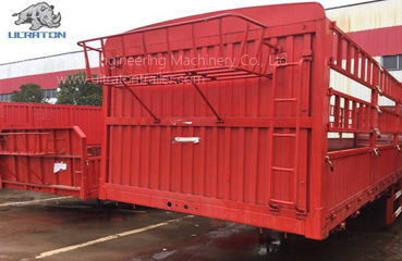 3 Eixos 50 Ton Fence Semi Trailer