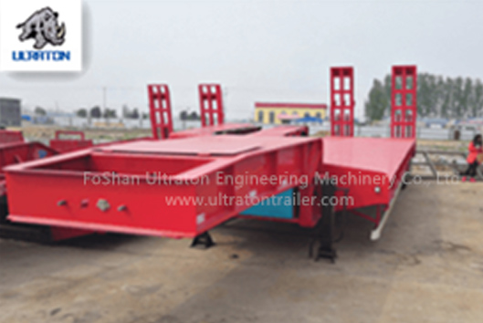60-150 Ton Low Bed Semi Trailer