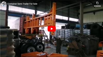 Ultraton Container Semi Trailer for Sale