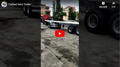 Semi Trailer Ultraton Flatbed